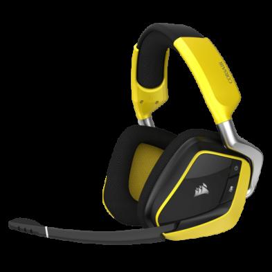 Corsair VOID PRO RGB Wireless Premium Gaming Headset Yellow