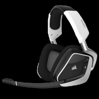 Corsair VOID PRO RGB Wireless Premium Gaming Headset White